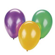Latex Balloon Assortment - OrientalTrading.com  144 @ 16.00