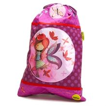 Backpack for Rachael? Sac de gym Ketto, style scolaire - Fille Papillon / Ketto's gym bag, back to school style - butterfly girl * www.kettodesign.com