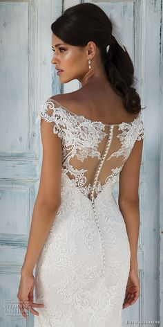 justin alexander 2018 bridal cap sleeves illusion off the shoulder sweetheart neckline full embellishment elegant fit and flare wedding dress sheer lace back medium train (12) zbv -- Justin Alexander 2018 Wedding Dresses