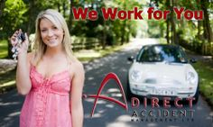the picture says it all--we work for you! #directaccidentmanagement