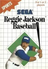 Reggie Jackson Baseball - Sega Master System Game