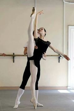 students at the Vaganova Ballet Academy /class Pas de Deux