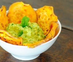 Crunchy, salty & roasted sweet potatoes with guacamole. My kid's favorite snack by www.stiritup.me!