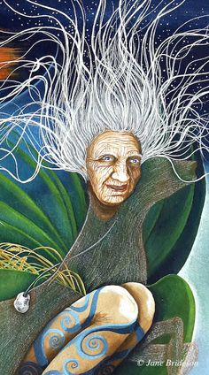 The Ever-Living Ones: The Cailleach - Hag of the Mill & Mother of the Herd.