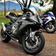 Bike Nations - Fails, Crash, Cops vs Bikers and much more! Yamaha R1, Mt 09 Yamaha, Motos Honda, Yamaha Motorcycles, Cars And Motorcycles, Yzf R125, Custom Sport Bikes, Ride Out, Zx 10r