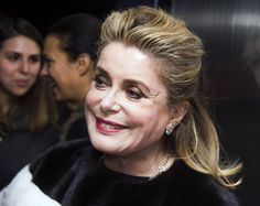 """""""I am fascinated by Catherine Deneuve"""" (Me Too!).  """"She recently spoke with the Times of London on the release of her new film Je Veux Voir (I Want to See) in which she plays Catherine Deneuve, an actress touring war torn Lebanon in a partially ad-libbed docudrama. The film played at Cannes."""""""