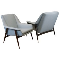 Lounge Chairs by Cassina | From a unique collection of antique and modern lounge chairs at https://www.1stdibs.com/furniture/seating/lounge-chairs/