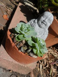 Beautiful small oval terracotta tinted cement by RotdCreations, $15.00
