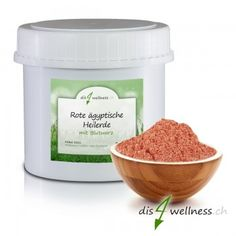 Rote ägyptische Heilerde mit Blutwurz Wellness, Dog Food Recipes, Beauty, Beauty Products, Organic Beauty, Red, Beleza