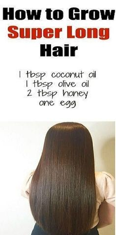 Hair Remedies Grow hair faster with this simple recipe. This homemade hair mask can work wonders on your hair, even on the most damaged hair. It's easy to prepare, with natural ingredients that you probably already have in your kitchen. Grow Thicker Hair, Longer Hair Faster, How To Grow Your Hair Faster, Grow Long Hair, Make Hair Longer, Long Hair Tips, How To Grow Natural Hair, How To Long Hair, Thin Long Hair Cuts
