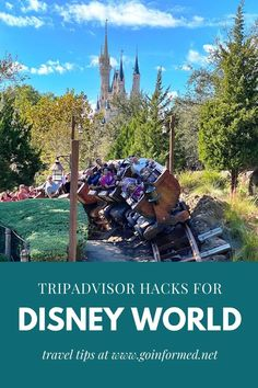 Learn how to tap the wealth of knowledge in a one-star TripAdvisor review to improve your Disney World vacation. Visit goinformed.net for these unique and powerful tips for Disney World. #traveltips