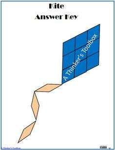 Pattern Blocks Spring Puzzles by A Thinker's Toolbox Kindergarten Teachers, Elementary Teacher, Teacher Pay Teachers, Easy Art Lessons, Fun Math, Simple Art, Pattern Blocks, Shape Patterns, Tool Box