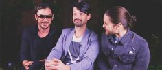 30 Seconds to Mars Thirty Seconds, 30 Seconds, Jared Leto Gif, Mars Family, Shannon Leto, Cool Bands, The Dreamers, Let It Be, Guys