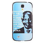 Memorying Nelson Mandela Pattern Sky Blue Gro... – USD $ 3.99