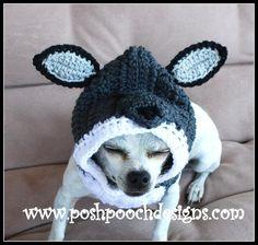 (4) Name: 'Crocheting : Wolf Dog Snood 3 sizes