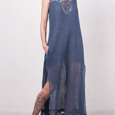 https://www.etsy.com/listing/462672579/crochet-dress-crochet-navy-dress-maxi?ref=shop_home_active_7 #crochetdress #navydress #maxidress #