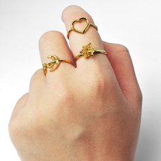 | Gold Combo | Can you rock it in gold? #pinchandfold #jewellery #handmade