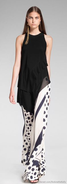 Donna Karan Resort 2014 Pants are a little bold for LC shoot but overall nice feel