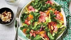 Citrus-Salmon Salad RecipeHow to Make ItStep 1Fold a 30- x 18-inch piece of parchment paper in half lengthwise; fold in half again crosswise (short end to short end) to create a 4 layer thick piece. Place folded parchment in bottom of a 6-quart slow …