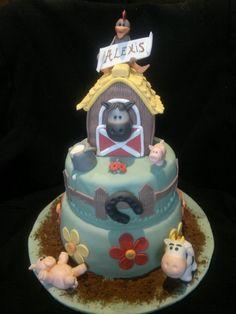 Animal Farm cake - by delizieperlanima @ CakesDecor.com - cake decorating website