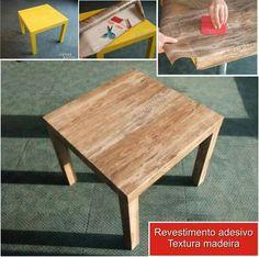 Adesivo madeira de demolição