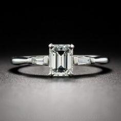 .75 Carat Emerald-Cut Diamond Engagement Ring - What's New