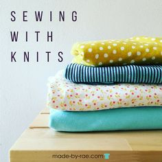 I am really truly excited that so many of you are commenting to say that the KNITerviews have inspired you to get over yourself and try sewing with knits! I wanted to offer a few more posts about sewing with knits to help you S T  R    E   Read more...