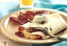 Ein kräftiges Frühstück der anderen Art: Mit diesen köstlichen Burritos fängt jeder Tag gut an.