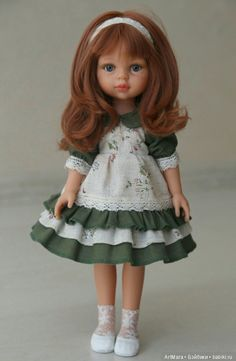 Кристи от Паола Рейна в одежде ручной работы! / Игровые куклы / Шопик. Продать купить куклу / Бэйбики. Куклы фото. Одежда для кукол Girl Doll Clothes, Barbie Clothes, Girl Dolls, Ag Dolls, Knitted Dolls, Crochet Dolls, American Girl Dress, American Girls, Dress Anak