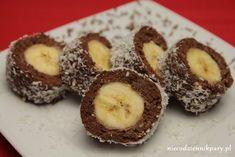 banany w czekoladzie