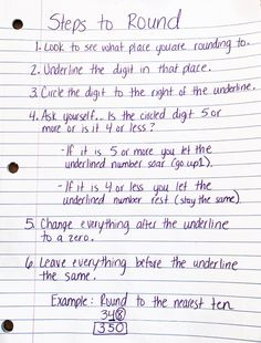 Over the years I have tried many strategies for rounding numbers to the nearest ten, to the nearest hundred, and to the nearest thousand. I finally found a Rounding Activities, Rounding Worksheets, 3rd Grade Activities, Printable Math Worksheets, Rounding 3rd Grade, Fourth Grade Math, Math Class, Maths, Rounding Anchor Chart