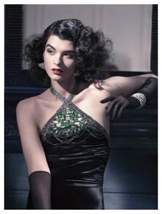 Great vintage hair and make up