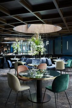 Interior design inspirations for your luxury restaurant. Check more at luxxu.net