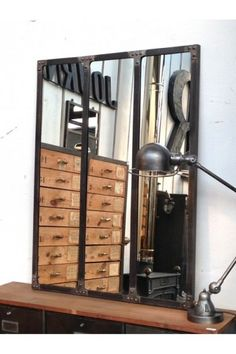 loft industriel loft and industriel on pinterest. Black Bedroom Furniture Sets. Home Design Ideas