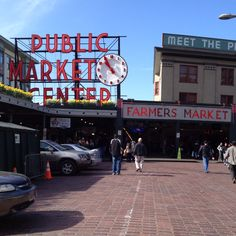 Pike Place Market Seattle, WA