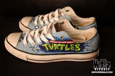 41991468f0af Ninja Turtles VW Custom Converse All