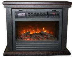LifeSmart Electric Dynamic Infrared Fireplace Heater Infrared Fireplace, Fireplace  Heater, Electric Fireplace, Home