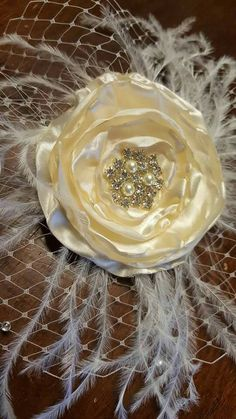 Check out this item in my Etsy shop https://www.etsy.com/listing/280908970/bridal-hair-piece-clip-floral-rhinestone