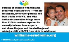 Help promote Williams Syndrome Awareness!  To learn more about Williams syndrome, please visit: http://www.williams-syndrome.org/