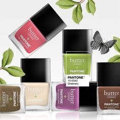 Butter LONDON + Pantone Color Of The Year Lacquer Set