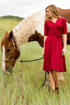 Fit-and-Flare Ali Dress from the Timbers and Twine Collection by Shabby Apple