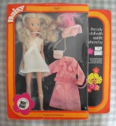 MARY QUANT DAISY DOLL DERBY DAY 65034 MODEL TOYS BOXED DOLL (See Below)
