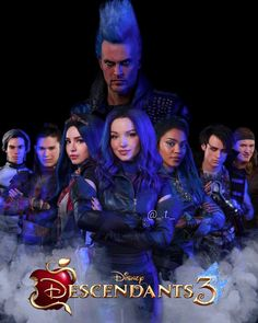 𝘋𝘦𝘴𝘤𝘦𝘯𝘥𝘢𝘯𝘵𝘴 3 ~ ~ Made by (me) The Descendants, Costume Descendants, Carlos Descendants, Cameron Boyce Descendants, Descendants Characters, Disney Channel Movies, Disney Channel Descendants, Disney Channel Stars, Disney Movies