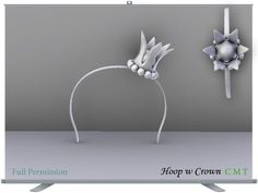 Hoop w Crown Full Permission impact 2 AO UV included You can not sell or transfer the right to resell or transfer. Crown, Perm, Hoop, Decor, Corona, Wavy Perm, Decorating, Dekoration, Frame