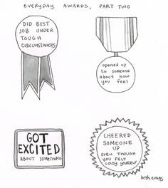beth evans - everyday awards - part 2