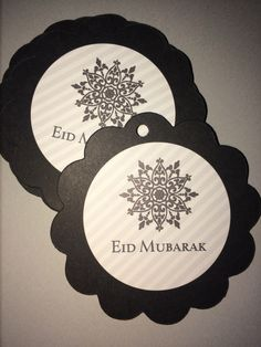 Eid Mubarak Gift/Favor Tags by SalaamCards Eid Mubarak Gift, Ramadan Decorations, 1st Day, Favor Tags, Gift Wrapping, Favors, Xmas, Unique Jewelry, Handmade Gifts