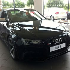 One mean looking Audi RS5