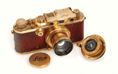 Gold Plated Luxury 1931 Leica Camera Auctioned for $683,000 • Highsnobiety