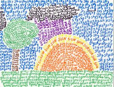 Word PointillismWord Pointillism