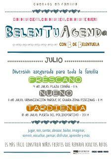 .: JULIO: LA BELENTUAGENDA DE BELENTUELA